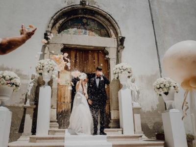 Kirchenauszug Hochzeit