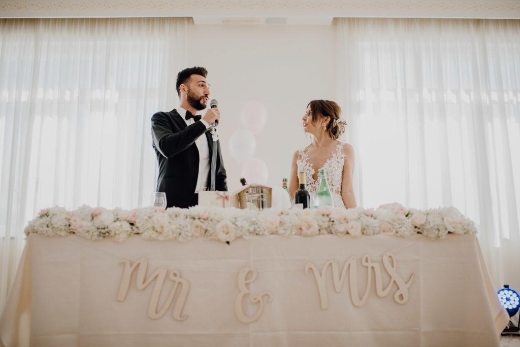 Hochzeitsgäste vorstellen