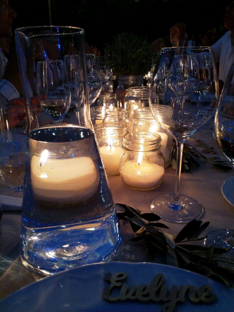 Hochzeit Lichterkette