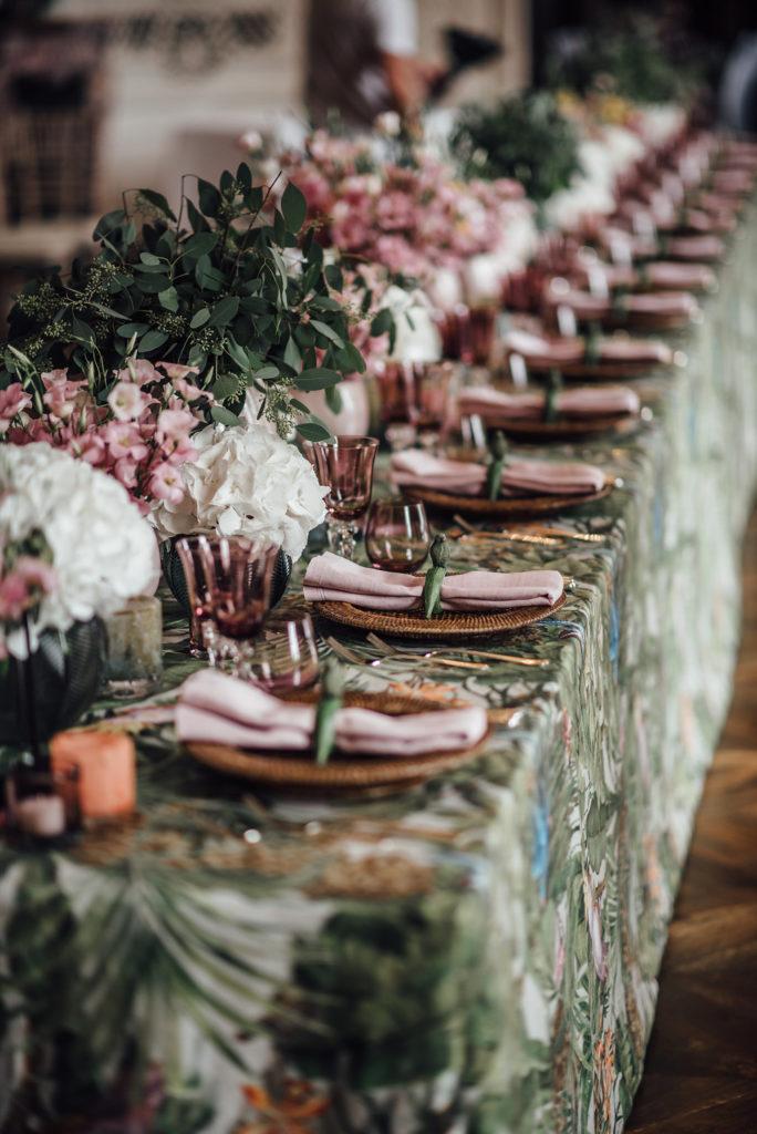 Hochzeitstafel Servietten