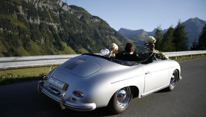 365 Porsche Wedding Car