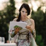 Evelyne Schärer Wedding Planner at work mit Drehbuch